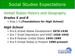social studies expectations1