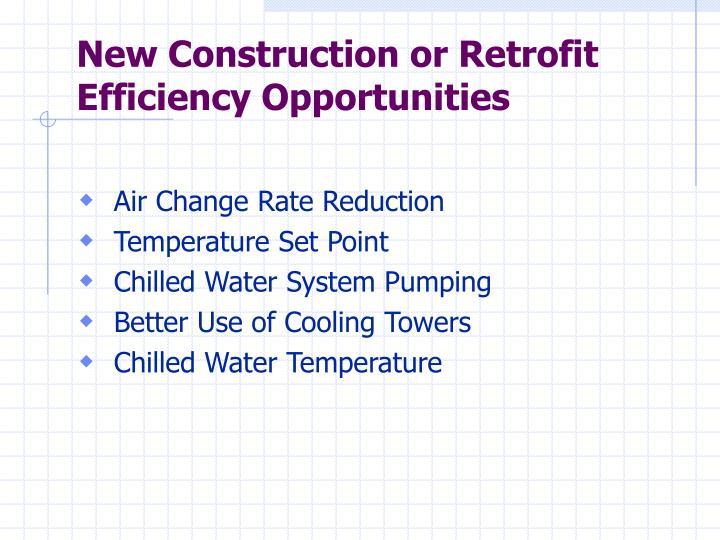 New Construction or Retrofit
