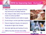 rfid for improving care