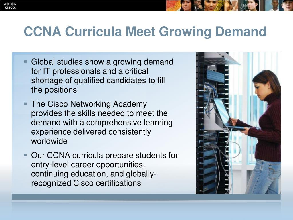 CCNA Curricula Meet Growing Demand