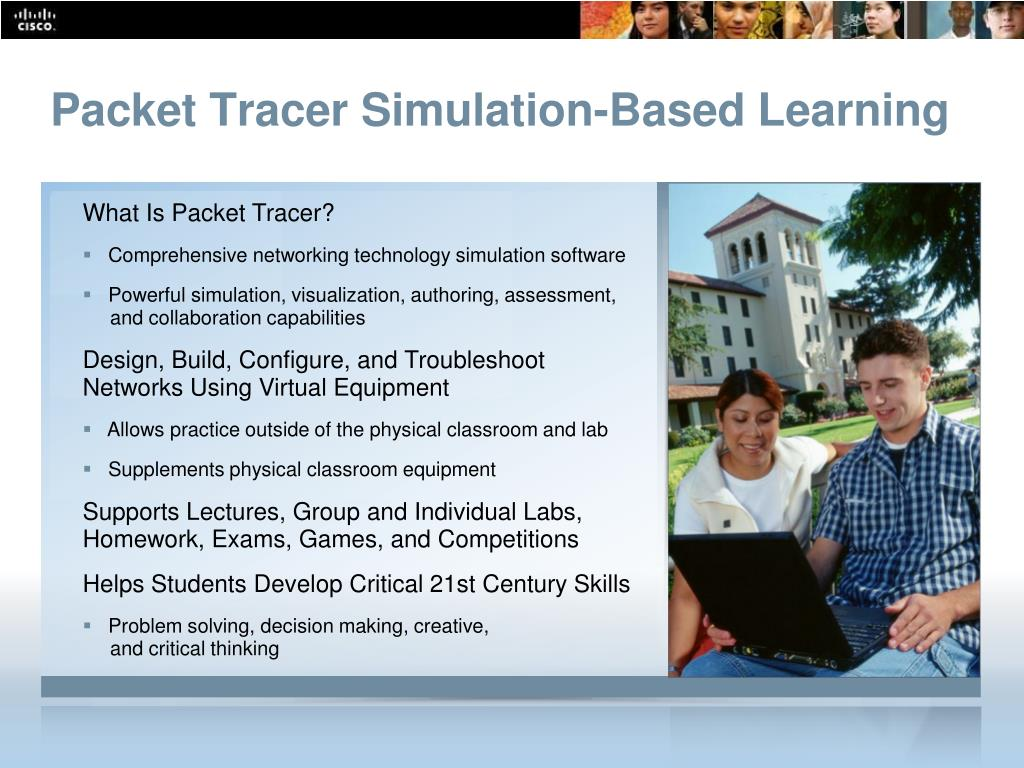 Packet Tracer Simulation-Based Learning