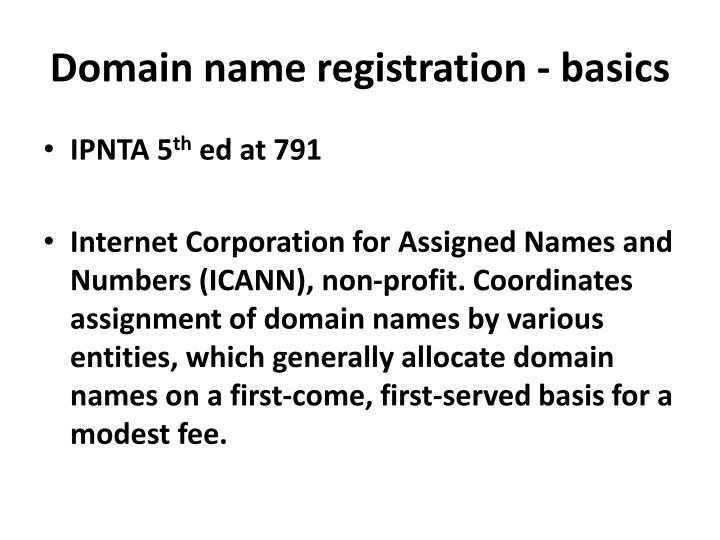 an overview of the internet corporation for assigned names and numbers Icann is the internet corporation for assigned names and numbers it is a california non-profit corporation consisting largely of internet society members, and was created on september 18, 1998 in order to take these tasks include managing the assignment of domain names and ip addresses.