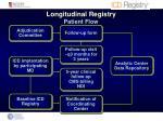longitudinal registry patient flow