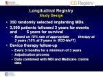 longitudinal registry study design2