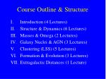 course outline structure
