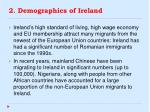 2 demographics of ireland3