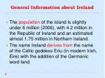 general information about ireland1