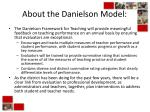 about the danielson model