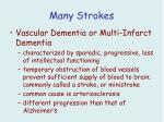 many strokes