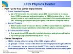 lhc physics center1