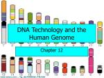 dna technology and the human genome