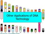 other applications of dna technology