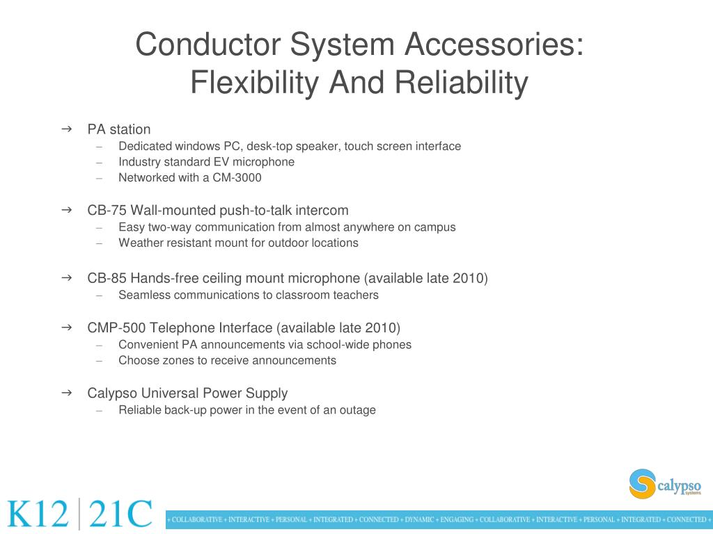 Conductor System Accessories: