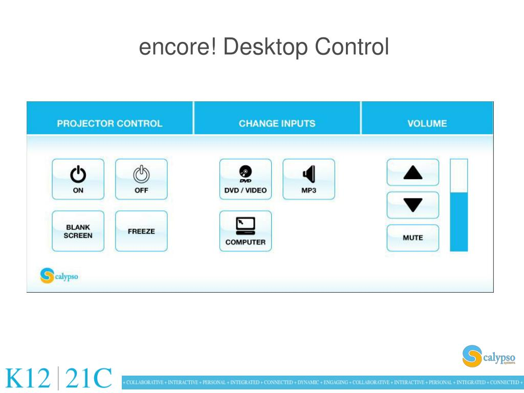 encore! Desktop Control