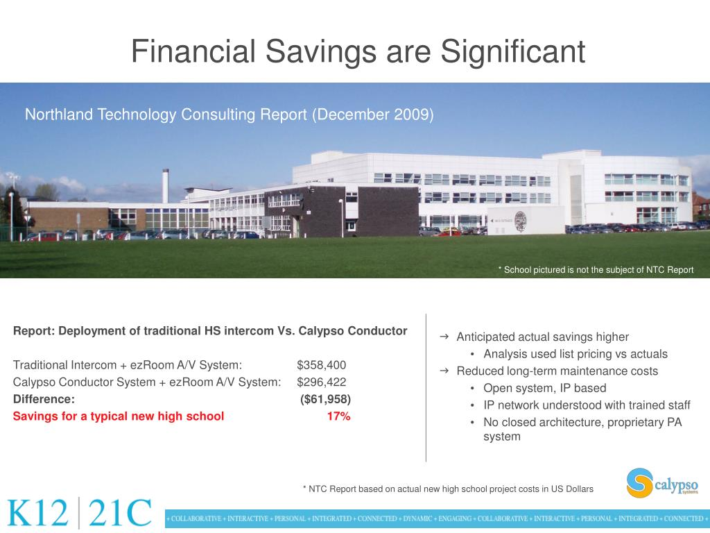 Northland Technology Consulting Report (December 2009)