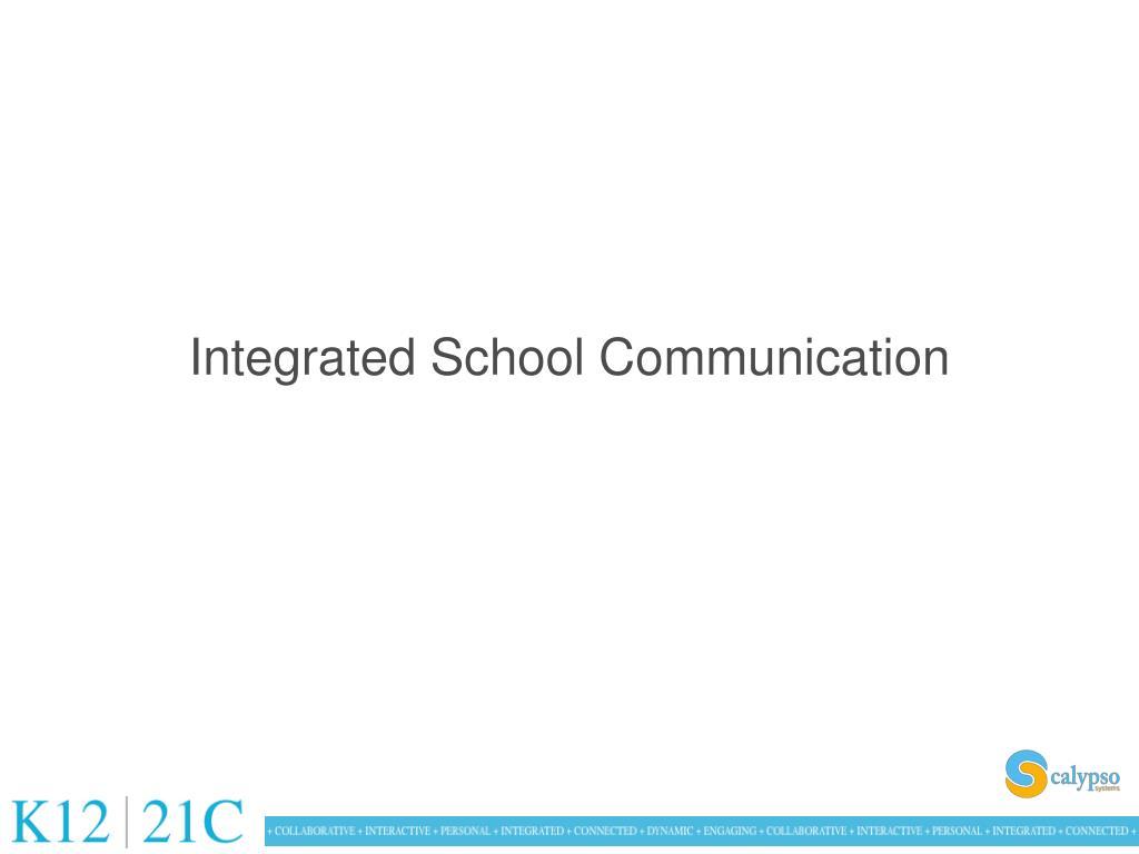 Integrated School Communication