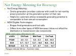 net energy metering for bioenergy
