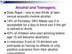 alcohol and teenagers