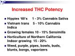 increased thc potency