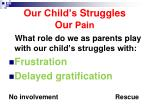 our child s struggles our pain