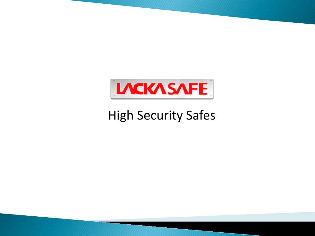 High Security Safes