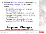 proposed changes hornets nest winding springs marie g davis