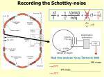recording the schottky noise