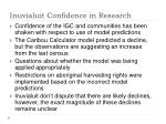 inuvialuit confidence in research