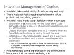 inuvialuit management of caribou