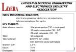 latvian electrical engineering and electronics industry association