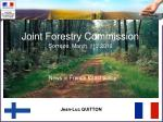 joint forestry commission sorr ze march 11 st 2010