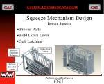squeeze mechanism design2