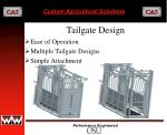 tailgate design