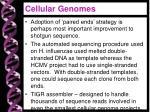 cellular genomes1