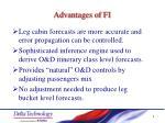 advantages of fi