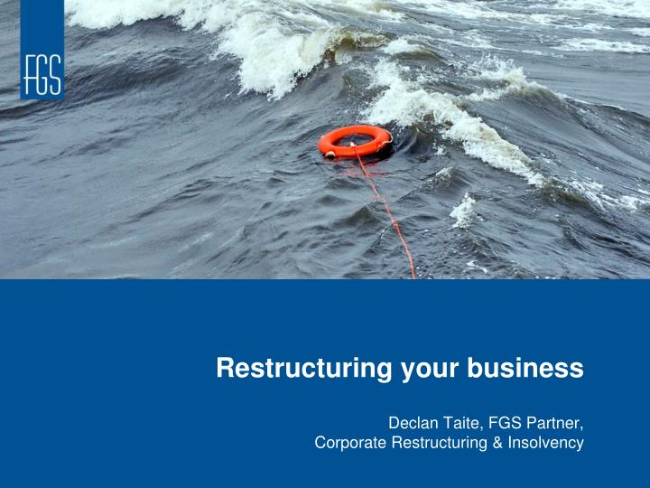 restructuring your business n.