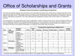 office of scholarships and grants11