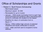 office of scholarships and grants18