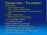 disease facts the problem