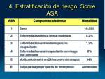 4 estratificaci n de riesgo score asa