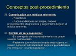 conceptos post procedimiento3