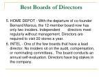 best boards of directors2