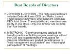 best boards of directors3