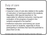 duty of care5