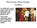 discussion more gender conflict