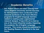 academic benefits1