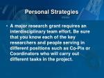 personal strategies2