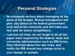 personal strategies3