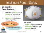 intelligent paper safety