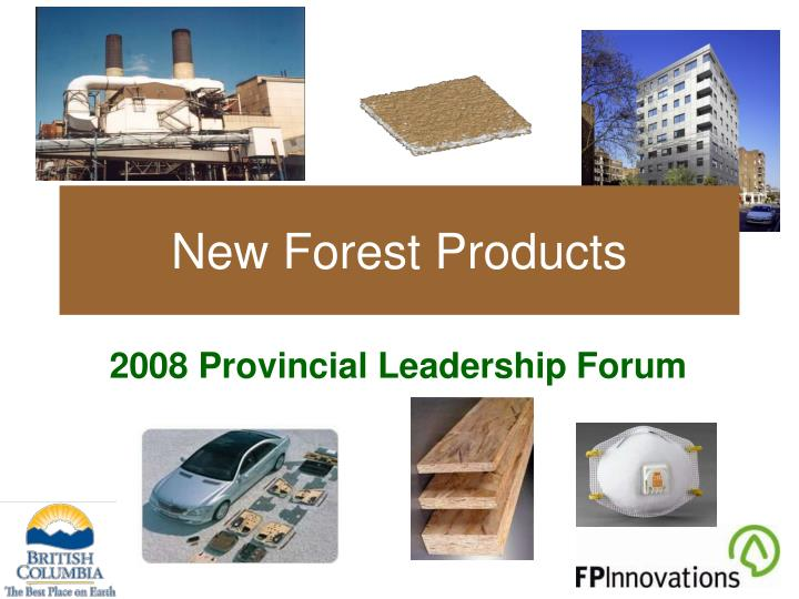 new forest products n.